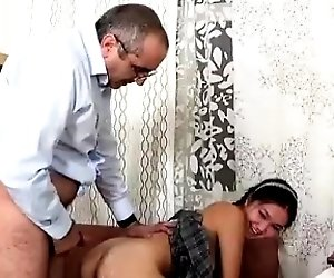 Blowjob for teacher that is...