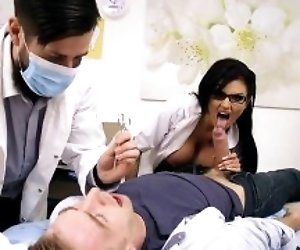 Horny Doctor Candy Sexton...