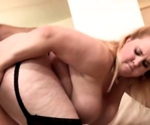 Fat babe hooters creamed