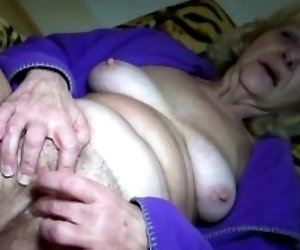 Blonde Granny Loves Sex In...