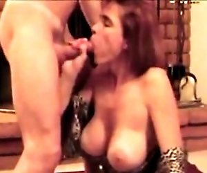 Hotwife with huge fake...