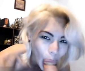 Blonde Is Revealing Her Body 2