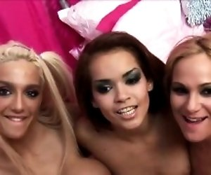 Hot orgy session with...