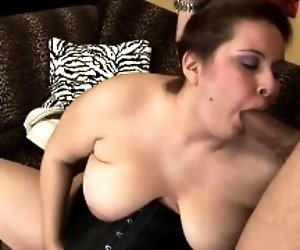 Hot BBW has her hairy pussy...